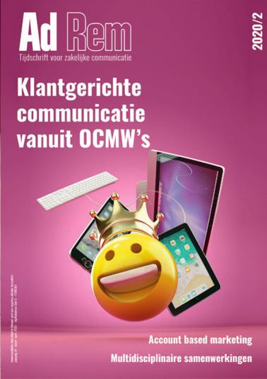 2020/2 – Klantgerichte communicatie vanuit OCMW's