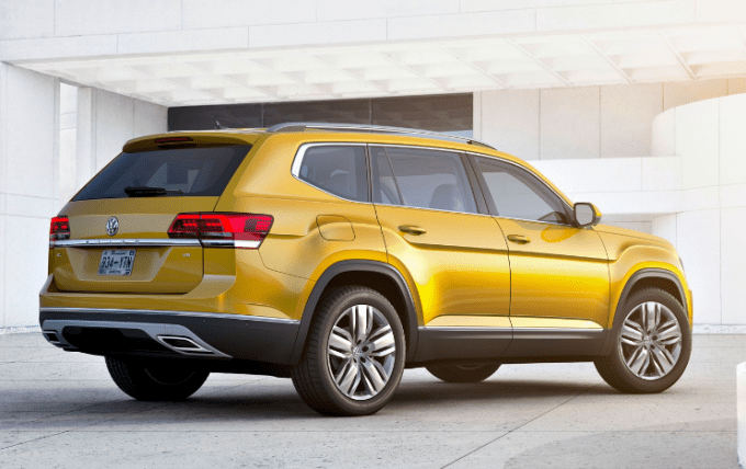 2018 Volkswagen Space Cross Exterior