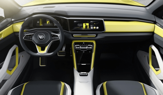 2018 Volkswagen Space Cross Interior