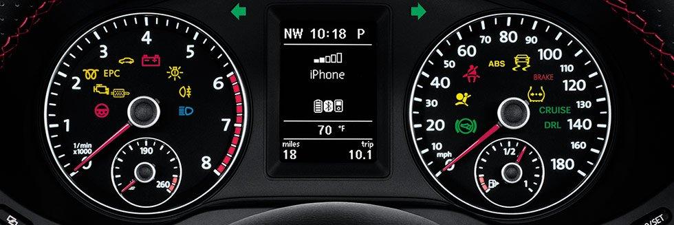 Warning Symbols Dashboard Volkswagen