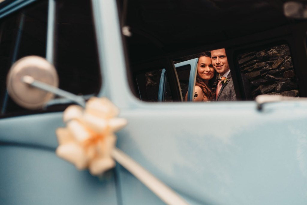 Barn in the Fells Wedding Transport