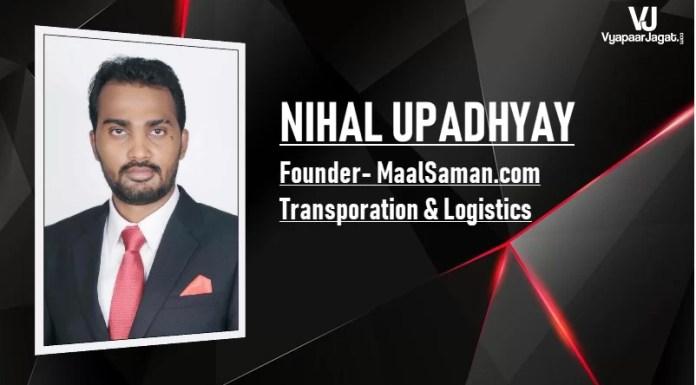 Nihal Upadhyay founder at MaalSaman