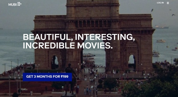 Mubi, a 12-year-old on-demand movie streaming and rental service, has arrived in India - Vyapaarjagat