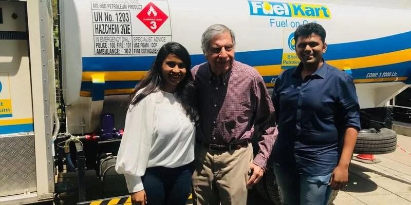 Aditi Chetan with Ratan Tata-repos energy