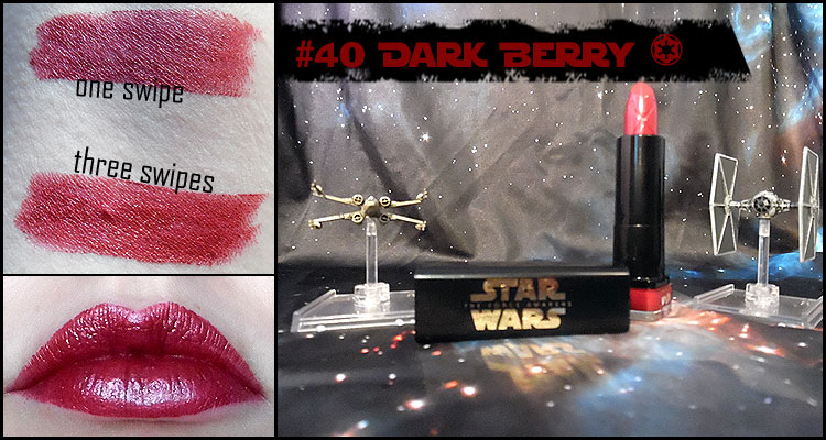 Max factor Star Wars Dark Berry