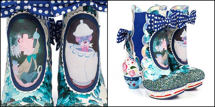Irregular Choice Alice in Wonderland Mad Tea Party