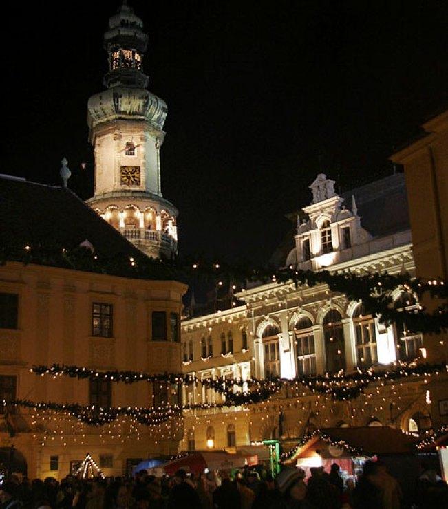 Vianočné trhy v Soproni