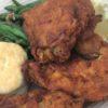 Disneyland's Plaza Inn Fried Chicken Plate