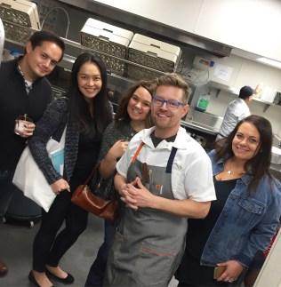 Chef Richard Blais takes my friends and I on a kitchen tour!