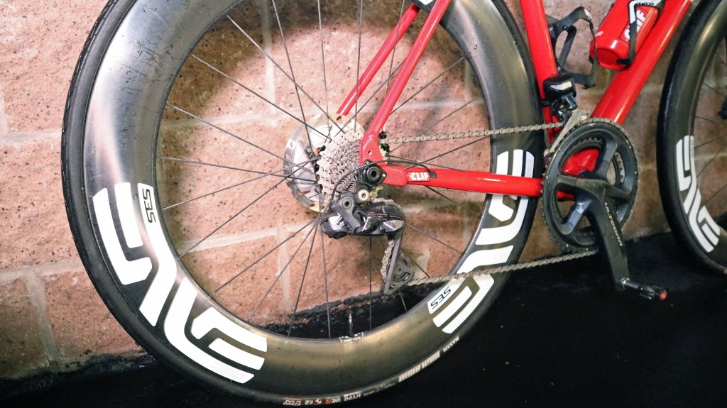 Bike Check 1-2: Conor's bold red VYNL road disc