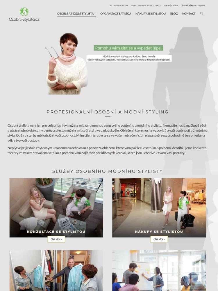 Blog a web módního stylisty