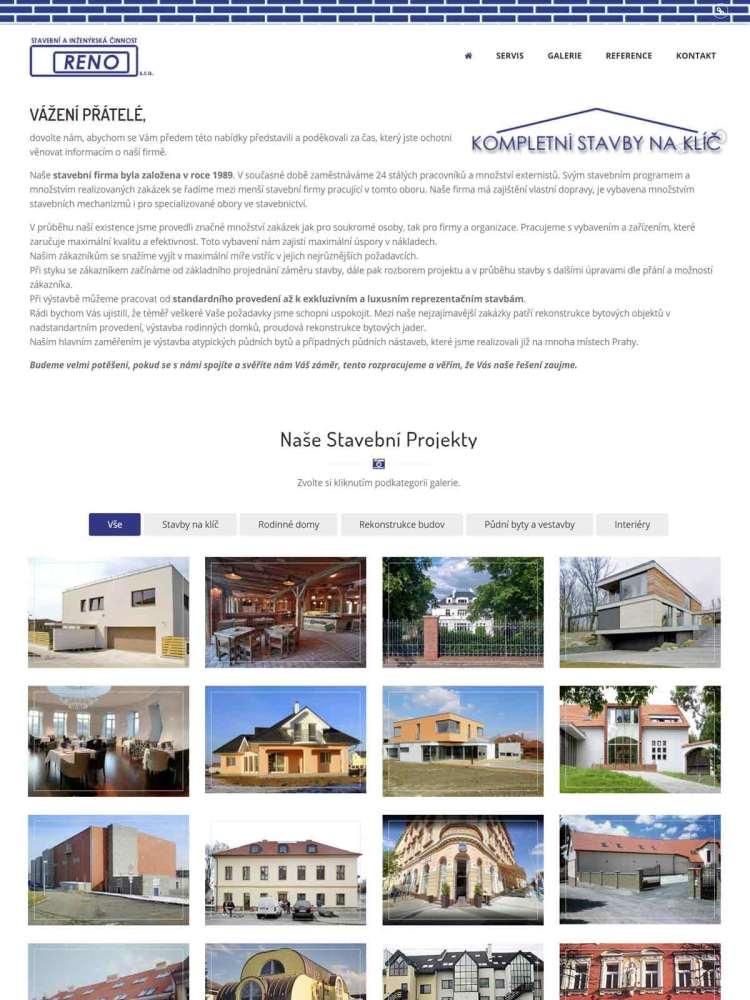 Stavební firma v Praze