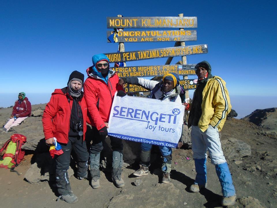 Výstup na Kilimandžáro v říjnu