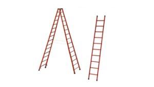 Ladders van fiberglas