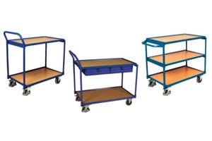 Tafel- en etagewagens