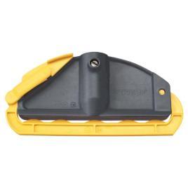 762597 Mophouders,  zwart/geel
