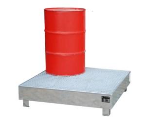 407820 Opvangbak,  v. 4x200l vat