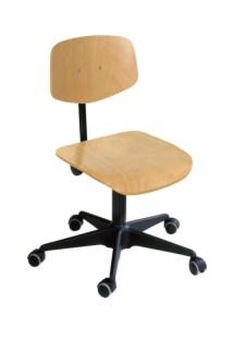 110585 Werkplaatsstoel,  standaardzitting natuur