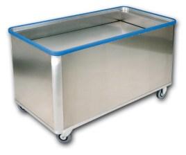 204066 Aluminium Bakwagen,  draagverm. 70kg