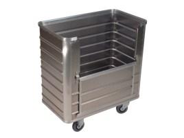204113 Aluminium Bakwagen,  draagverm. 250kg