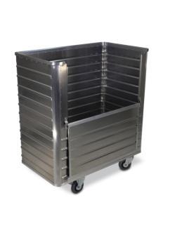 204124 Aluminium Bakwagen,  draagverm. 300kg