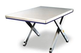 787088 Platte Schaarheftafel,  draagverm. 1500kg