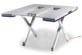 787179 Platte Schaarheftafel,  draagverm. 1500kg