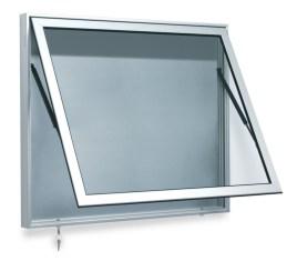 310256 vitrine,  v. 27x DIN A4