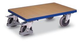 402044 Onderwagen Voor Kratten,  draagverm. 250kg