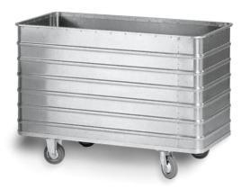 204044 Aluminium Bakwagen,  draagverm. 250kg