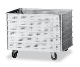 501813 Aluminium Bakwagen,  draagverm. 200kg