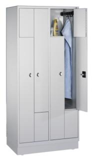 484315 Z-garderobekast,  HxBxD 1820x820x510mm