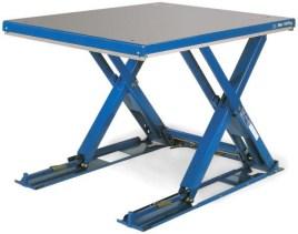 210786 Platte Schaarheftafel,  draagverm. 500kg