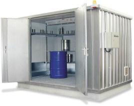200408 container voor gevaarlijke stoffen,  geïsoleerd