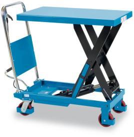 520982 Mobiele Schaarheftafel,  draagverm. 150kg