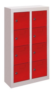 138600 lockerkast,  HxBxD 815x460x200mm