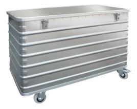 524621 Aluminium Bakwagen,  draagverm. 250kg