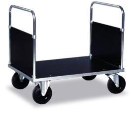 139200 Dubbele Kopwandwagens,  draagverm. 500kg