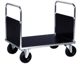 139201 Dubbele Kopwandwagens,  draagverm. 500kg