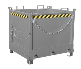 139855 Klapbodemcontainer,  HxLxB 1145x1040x1245mm