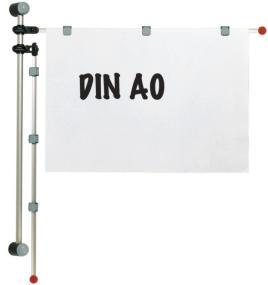 141279 Planhouder Wandmodel,  v. DIN A0