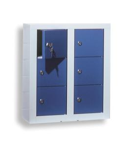 143291 lockerkast,  HxBxD 585x485x250mm