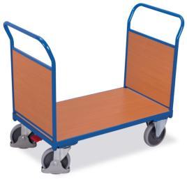202993 Dubbele Kopwandwagens,  draagverm. 500kg
