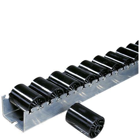 104298 Rollenlijst,  cilinderrol van kunststof