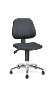 159359 Esd-Werkplaatsstoel,  ergonomische zitting zwart