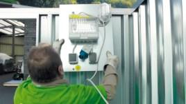 101216 Elektrisch Installatiepakket,  v. materiaalcontainer