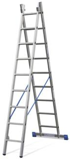 184335 Multifunctionele Ladder,  2x9 sporten