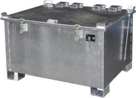221923 Lithium-Ion Opslagcontainer,  vuurverzinkt