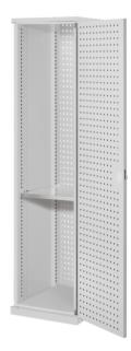222966 kast met perforaties,  HxBxD 1950x600x600mm
