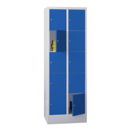 100917 lockerkast,  HxBxD 1850x630x500mm